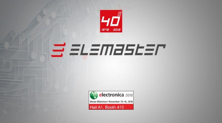 ELEMASTER SARÀ PRESENTE A ELECTRONICA 2018