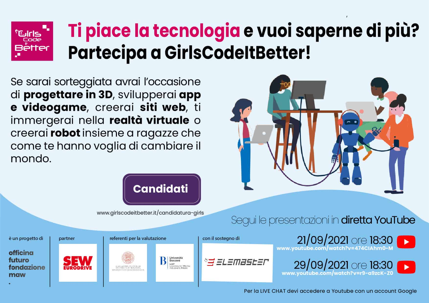 ELEMASTER AND GIRLS CODE IT BETTER
