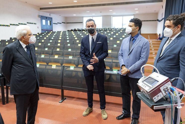 President Mattarella at the University of Bicocca